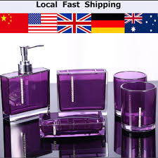 Cheap Bathroom Accessories by Online Get Cheap Bathroom Accessories Purple Aliexpress Com