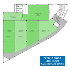 Commercial Complex Floor Plan Commercial U0026 Club House Panchmal