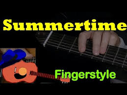tutorial virtual guitar summertime a fingerstyle guitar lesson with virtual animated