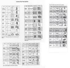 symbols for floor plan tables and chairs floor plan symbols plan