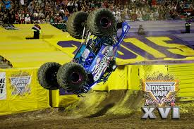 monster truck racing association overkill evolution wins the 2015 monster jam world freestyle