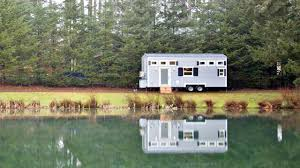elegant sleek homey tiny house with full sized baker u0027s kitchen