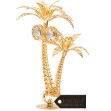 matashi mct3188 24k gold plated studded palm