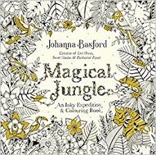 magical jungle inky expedition u0026 colouring book colouring