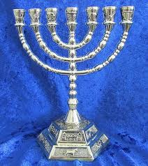 7 candle menorah candle holder 7 candle holder lovely 12 tribes israel
