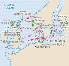 Kiel Germany Map by Baltic Odyssey May 2017 Craig Travel