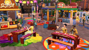 the sims 4 new stuff packs are ideal for house parties