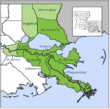 Louisiana Map Of Parishes by Where Are New Orleans U0027 Jobs Explosive Start Ups U0026 High