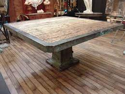 industrial tables for sale large french square vintage industrial table sold