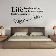 fashion quote dance the rain letters wall sticker getsubject aeproduct