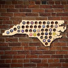 Beer Map North Carolina Beer Cap Map