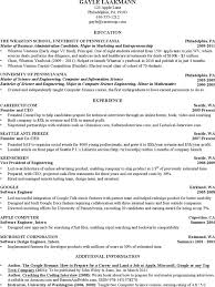 Sample Resume For Computer Science Student by Computer Science Resume Templates Download Free U0026 Premium