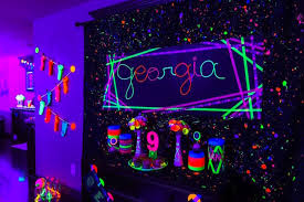 glow in the party kara s party ideas glow birthday party kara s party ideas