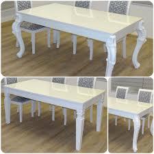 Barock Esszimmer Gebraucht Kaufen Barock Esstisch Hochglanz Weiß 200cm U2013 Esszimmer Tisch U2013 10558