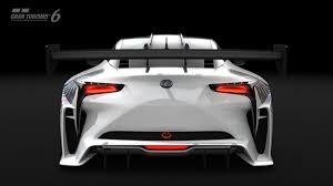 the view for lexus lf lc lexus lf lc gt vision gran turismo evo