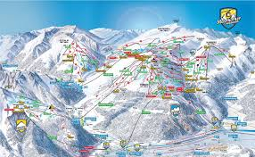 Map Austria Piste Map Mayrhofen Ahorn Tyrol Austria