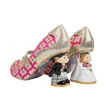 unique wedding shoes i you pink and gold unique wedding shoes irregular choice