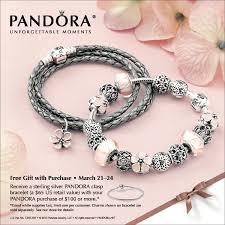 silver pandora bracelet with clasp images Free pandora bracelet event wit 39 s end giftique jpg