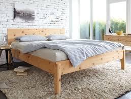 Schlafzimmer Zirbenholz Kaufen Bett Alpina Mit Betthaupt Höhe 90 8 Cm Zirbe 180x200 Cm Grüne