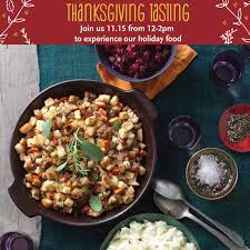 whole foods hosting free thanksgiving tasting on 11 15 12 2 pm