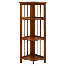 Target Corner Bookcase Casual Home Bookcases Target