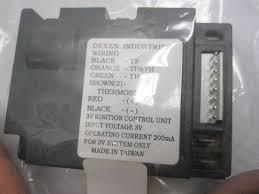 dexen electronic ignition gas valve control module ipi hg593592