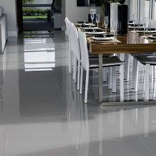 Tiles For Kitchen Floor Ideas 60x60 New Super Polished Grey Porcelain Home Is Where The Heart