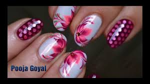 easy nail art design for beginner without any tool easy and
