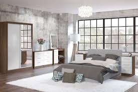 Gloss White Bedroom Furniture Birlea Furniture Lynx Lynx Walnut And White 6 Drawer Chest