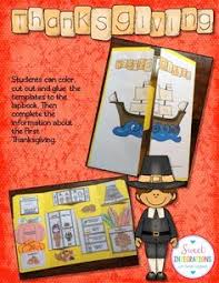 create a thanksgiving lapbook with your trivium tuesdays
