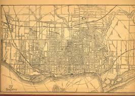 Birds Eye View Maps Historical Maps Of Toronto 1879 Canadian Railway News Bird U0027s