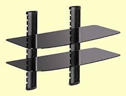 Audio Video Equipment Racks Amazon Com 2 Shelf Wall Mount For Audio Video Equipment Rack