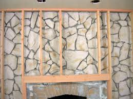 Pictures On The Wall by How To Build A Standard Wall Over A Stone Wall How Tos Diy