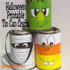 Printables Halloween by Easy Halloween Decorations Free Printables For Tin Can Crafts