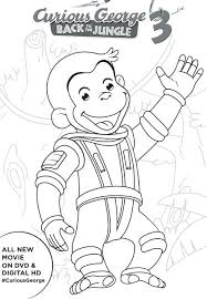 free printable curious george coloring pages curious coloring pages