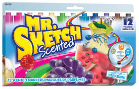 mr sketch scented colour markers assorted 12 pack walmart canada