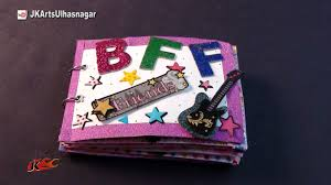 easy basic scrapbook idea for friendship day jk craft ideas 096