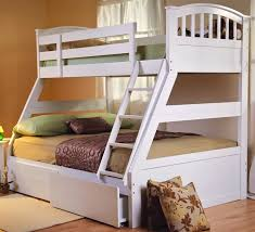 White Triple Bunk Bed Sweet Dreams Epsom - Dreams bunk beds