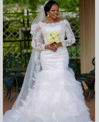 online get cheap long sleeves mermaid bateau wedding dress