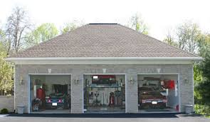 custom home garage car garage with lift from pa