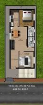 floor plan for north facing duplex house