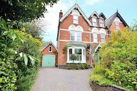 victorian house in edgbaston lies opposite the beautiful church of