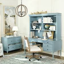 Make Your Office More Inviting Our Verona Desk With Hutch Is Feminine On The Outside But All