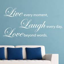 Live Love Laugh Home Decor Live Love Laugh Wall Decals Amazon Color The Walls Of Your House