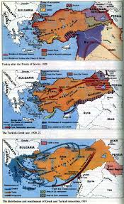 Map Of Greece And Turkey by Borders Language Culture