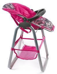 chaise haute poup e chaise haute pour poupée 50 cm caverne des jouets