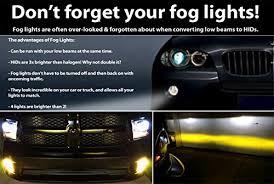 brightest hid lights for cars amazon com digital slim hid kit 55 watt 3x brighter than