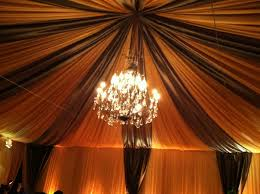 Chandelier Ceiling Canopy Canopy Full Ceiling Swag With Large Wrought Iron Chandelier