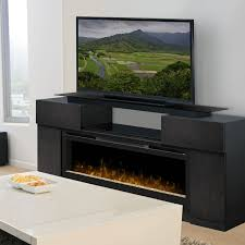 creative decoration entertainment stand with fireplace 60 pasadena