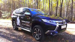mitsubishi pajero sport 2016 2016 mitsubishi pajero sport start up engine and in depth tour